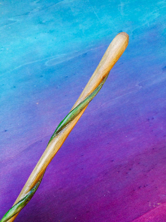 wood magic wand